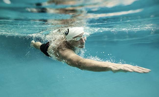 Swim each time how many calories can you burn