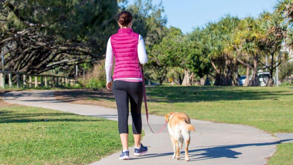 Walking to stimulate metabolism